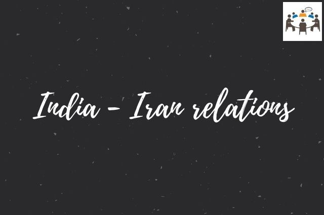 India Iran relations