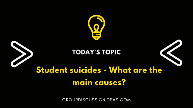 Student suicides - GD topic
