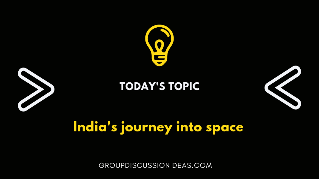 India's journey into space