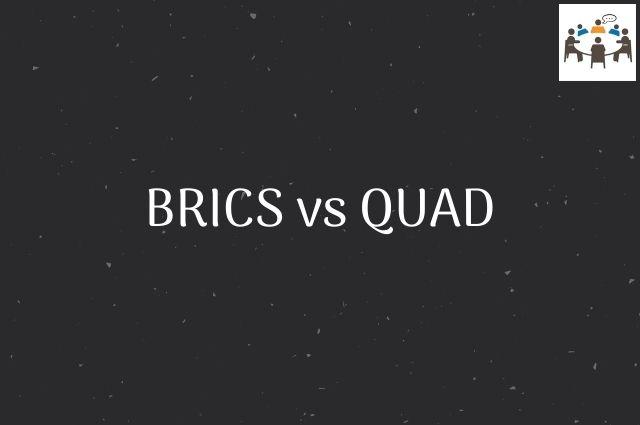 BRICS vs QUAD