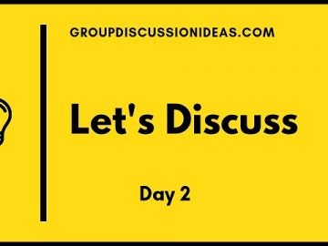 participate in a group discussion
